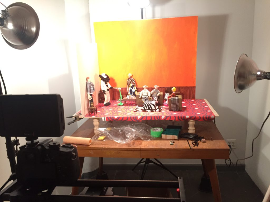 Stop Motion Basic Set Up